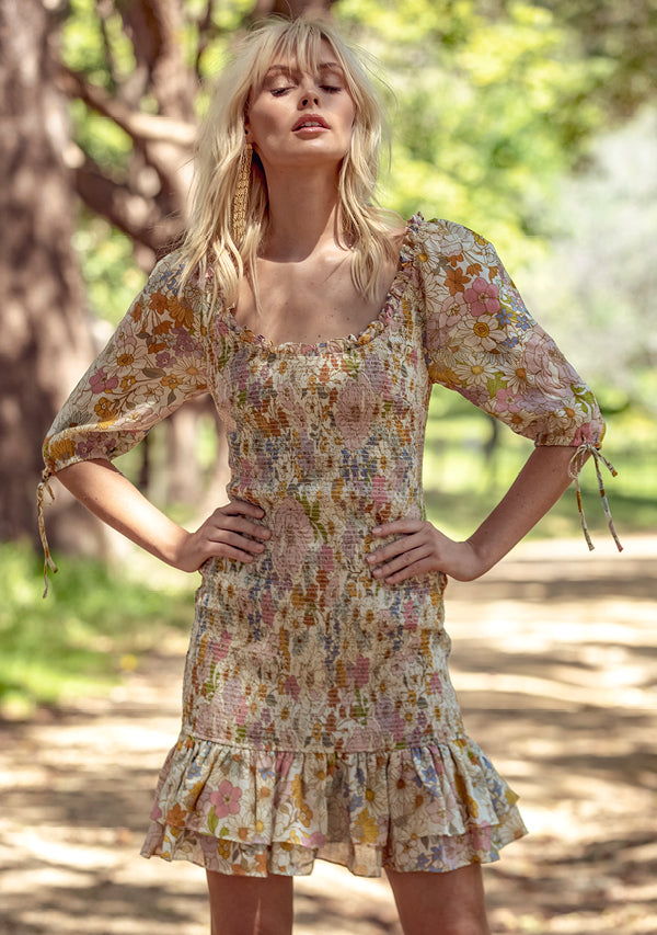 Wildflower Mini Dress Ministry of Style
