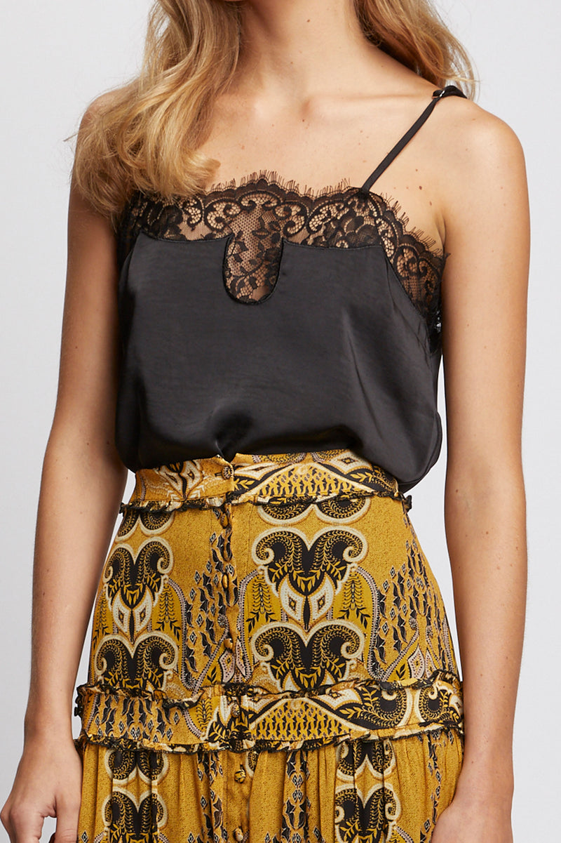 Willow Camisole Black Detail