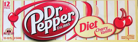 Dr Pepper Cherry Vanilla Diet