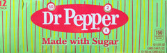 Dr Pepper Real Sugar