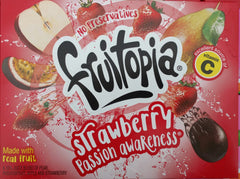 Fruitopia Strawberry Passion Awareness