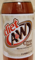 A&W Cream Soda Diet 2 Liter