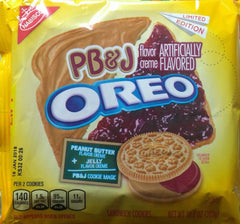 Oreos: Peanut Butter & Jelly