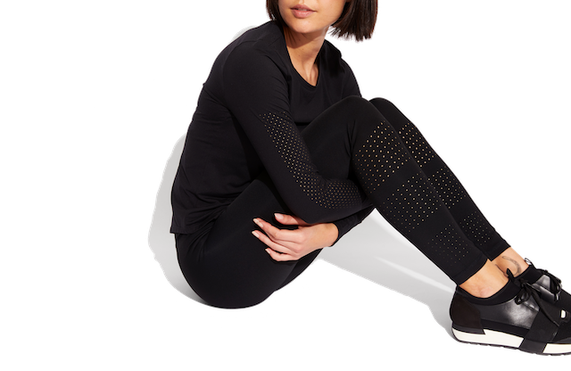 Laser Perforated Legging