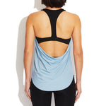 Back Drape Tank with Built in Bra