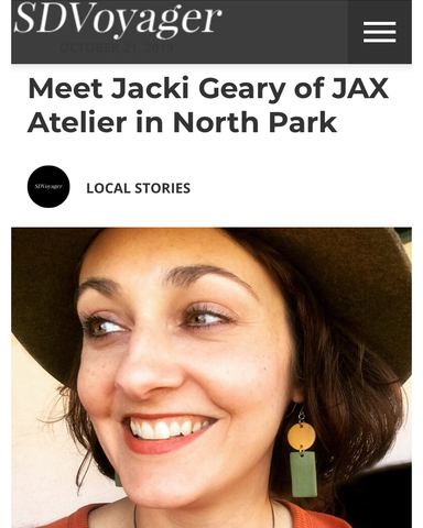 JAX Atelier interview for SDVoyager