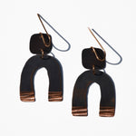 Arch Copper Patina Earrings by JAX Atelier