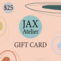 $25 JAX Atelier Gift Cards