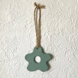 Seafoam Starfish-Shaped Polymer Clay Wall Hanging by JAX Atelier