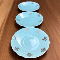 Set of 3 Vintage Saucers