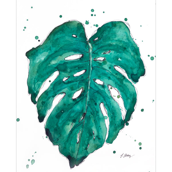 """Monstera Love"""