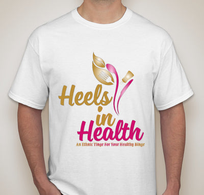 Short Sleeve Heels In Health T-Shirt
