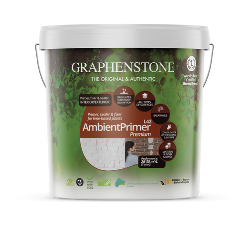 Ambient Primer L42 - Primes interior and exterior absorbent surfaces prior to painting