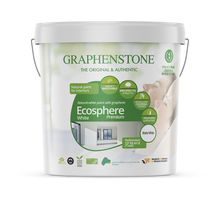 Load image into Gallery viewer, Ecosphere White  - The highest quality natural lime paint for Interiors, highly breathable, absorbs CO2, in White
