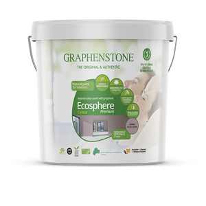 Ecosphere Colour - The highest quality natural lime paint for Interiors, highly breathable, absorbs CO2, in White and 14 pastel colours