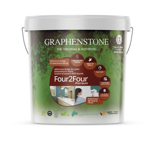 Four2Four - multi surface primer/undercoat for non absorbent surfaces