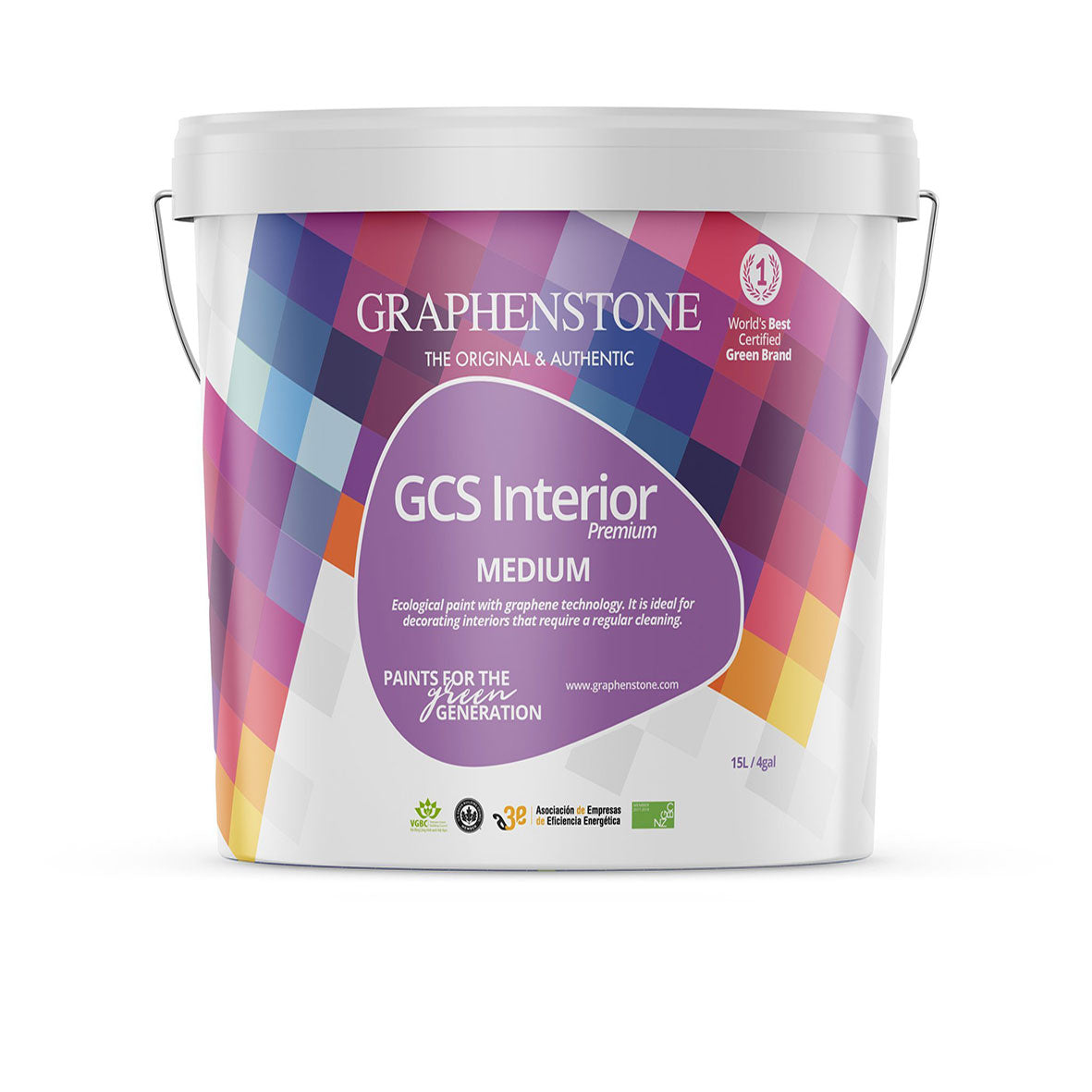 GCS Interior Colour - Our classic, breathable matt for heritage / listed properties, Ultra Matt finish for Lime plasters