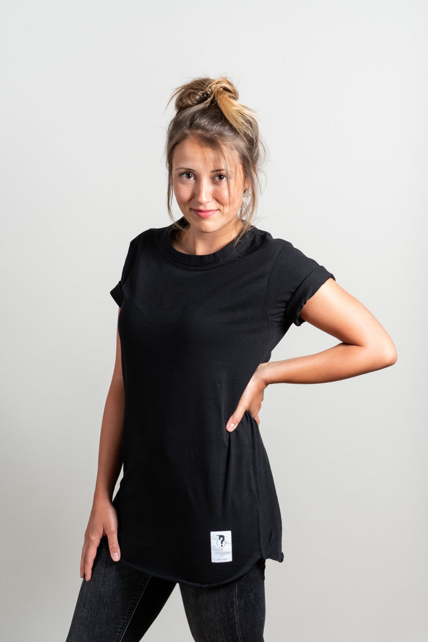 BOYFRIEND PURE SHIRT BLACKOUT