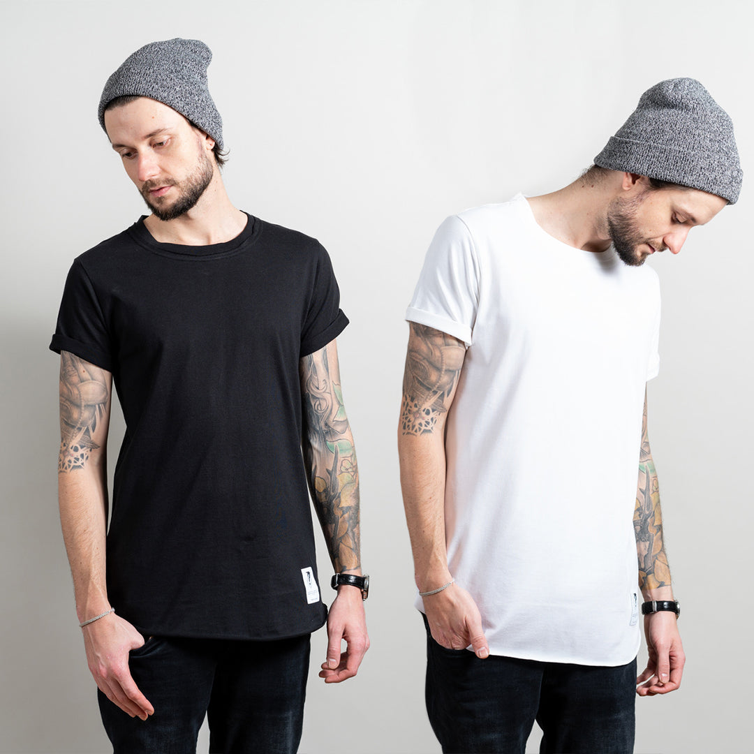 2er Pack: Pure Shirts POLAR & BLACKOUT