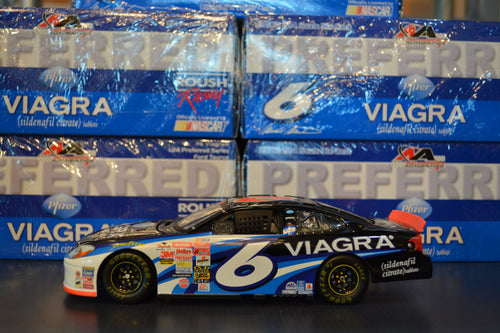 2002 #6 Viagra Motorsports Authentics Preferred Diecast