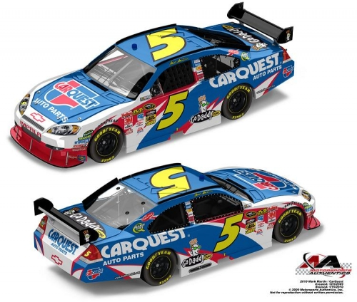 2010 #5 Carquest Action Racing Diecast