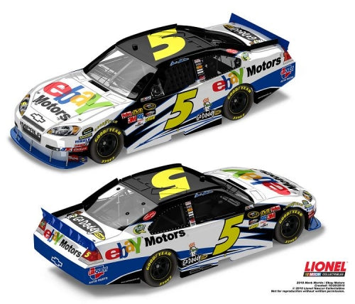 2010 #5 eBay Motors Action Racing Diecast