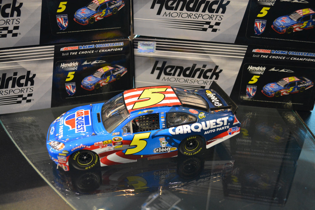2010 #5 Carquest Honoring Our Soldiers Action Racing Diecast