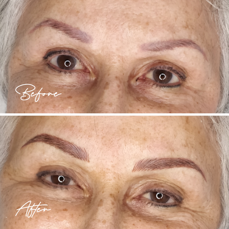Eyebrows - Touch Up - Microblading/Hair Strokes