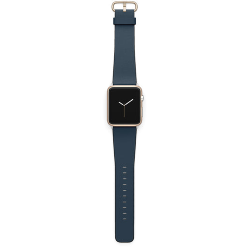 Navy Apple Watch strap