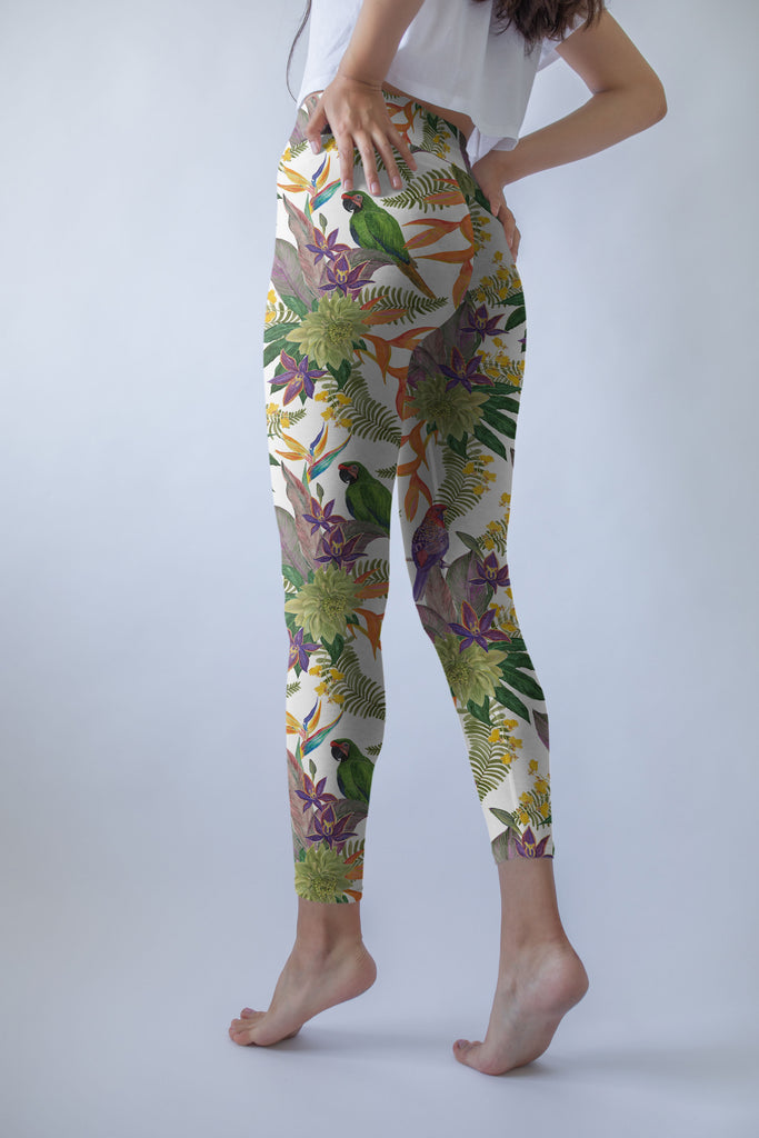 Rainforest Romance Printed Leggings