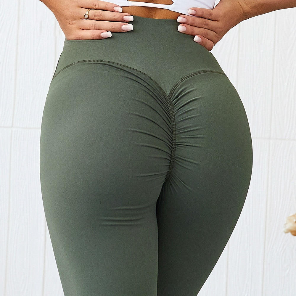 Ebb & Flow Active High Waist Booty Scrunch Leggings