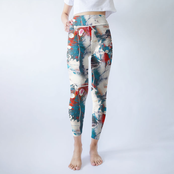 Active Arctic Printed Leggings