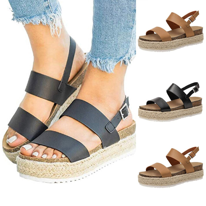Women's Platform Orthopedic Bunion Corrector Sandals