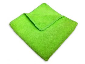 everyday cleaning microfiber towel - green (10-pack)