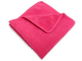 power cleaning microfiber towel - red (10-pack