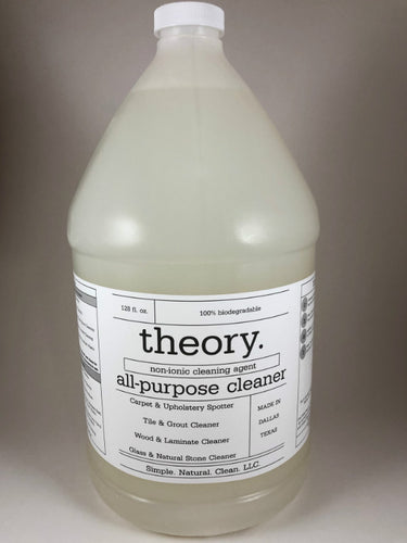 all-purpose concentrate | 1-gallon = 128|32|8 rtu bottles