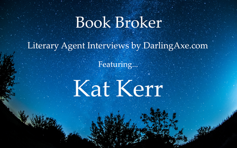 Interview with new literary agent Kat Kerr (agent apprentice) with Corvisiero Literary Agency