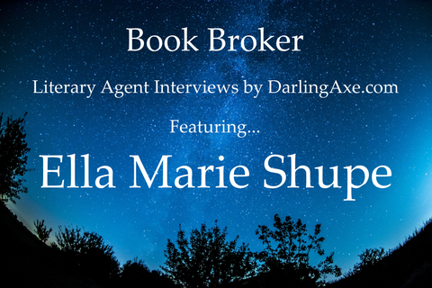 Interview with literary agent Ella Marie Shupe from Belcastro Agency -- advice for writers about best practices for query letters and agency submissions