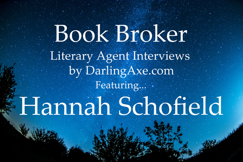 Interview with lit agent Hannah Schofield, LBA Literary Agency (querying tips and advice, manuscript wish list #mswl suggestions)