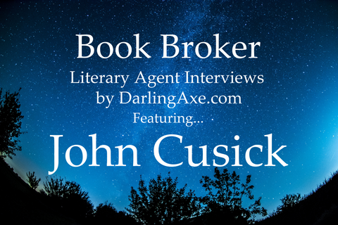 Book Broker—an interview with literary agent John Cusick of Folio Literary Management