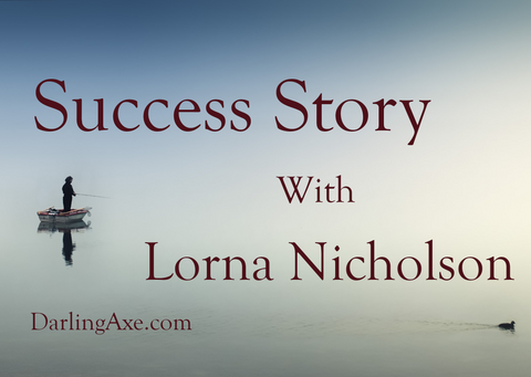 Success Story with Lorna Nicholson: how to get published, how to deal with rejection, advice for writers