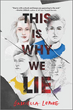 Gabriella Lepore's debut YA contemporary, This is Why We Lie, represented by book agent Whitney Ross