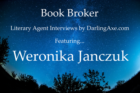 Book Broker - interview with literary agent Weronika Janczuk, advice for querying authors, personalize your query letter