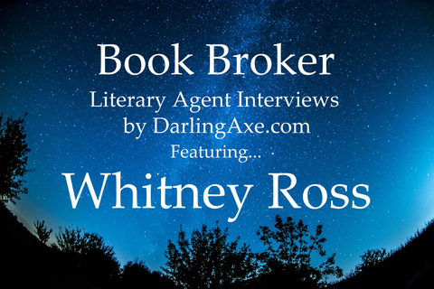 Book Broker—an interview with lit agent Whitney Ross of the Irene Goodman Literary Agency (query suggestions and advice, plus manuscript wish list tips (#MSWL)
