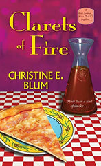 Clarets of Fire - A Rose Avenue Wine Club Mystery - represented by Belcastro Agency