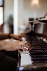 You wouldn't expect to sit down with a Beethoven sonata and play it after only a few piano lessons.
