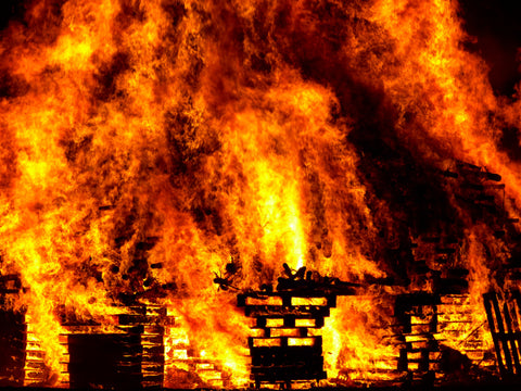 Burning Down the House: a call to revision! By Michelle Barker, senior editor at Darling Axe Editing
