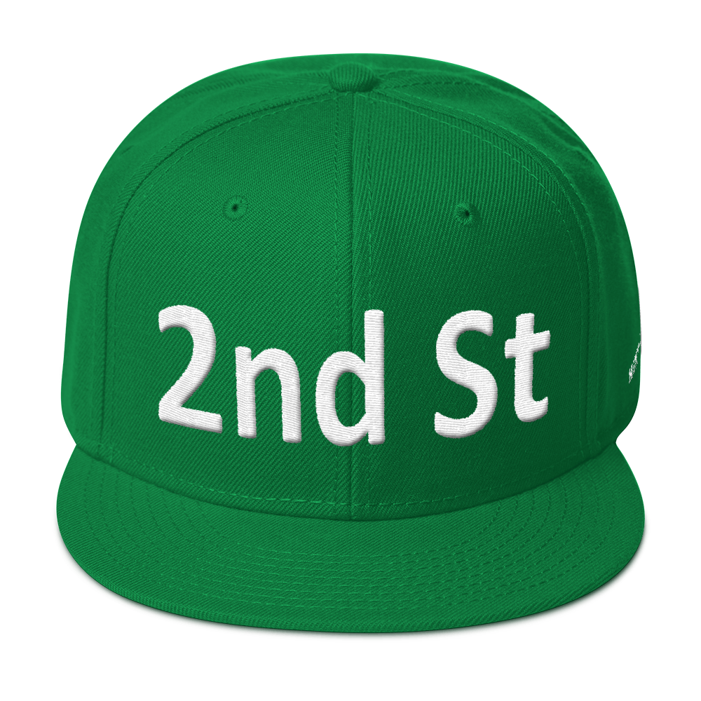 2nd St Snapback Hat