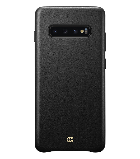 Smooth Leather Black - Galaxy S10