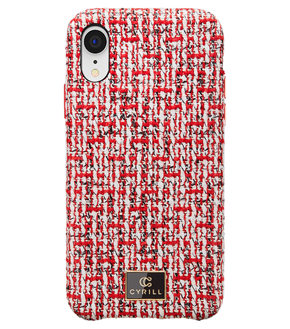 Rouge Tweed - iPhone XR